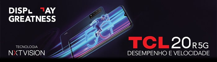 TCL 20 R 5G  DISPLAY GREATNESS