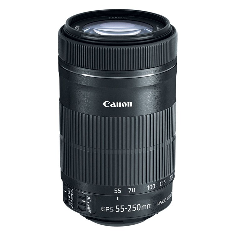 OBJETIVA CANON  55-250M4-5.6 IS STM